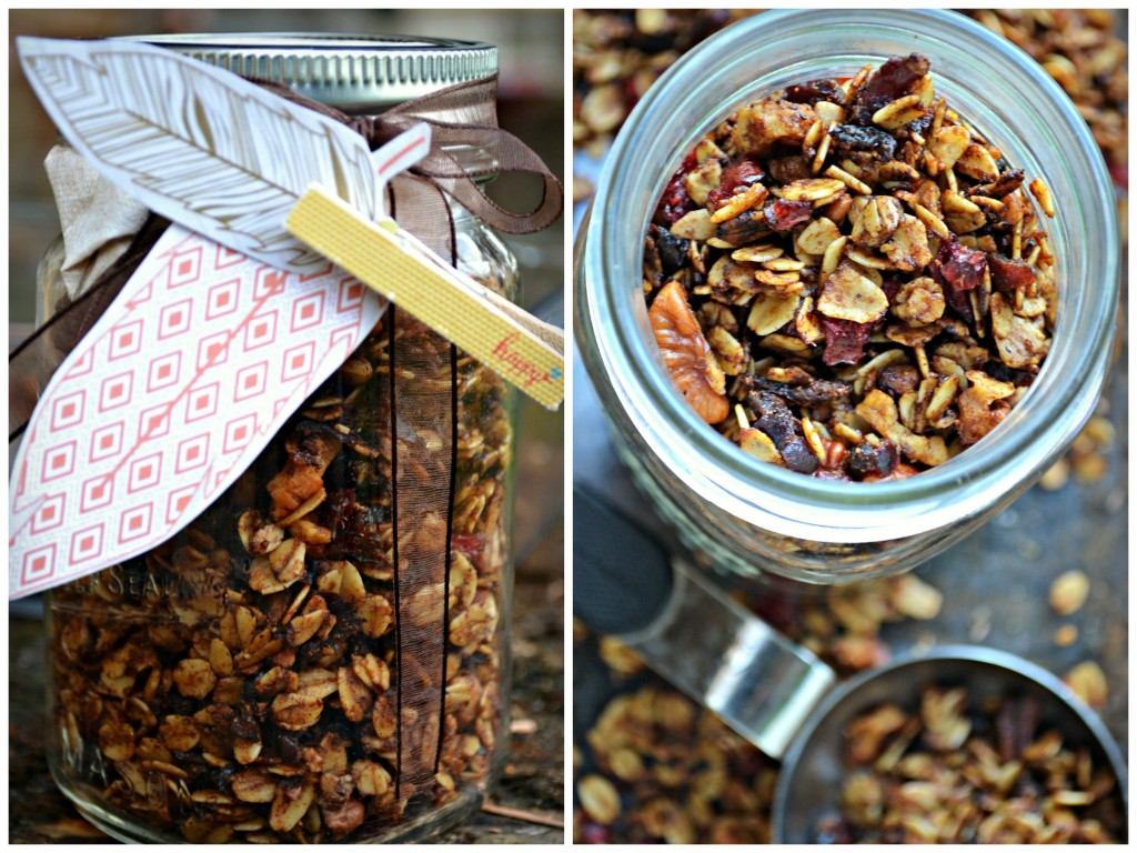 Gingerbread Granola-Perfect
