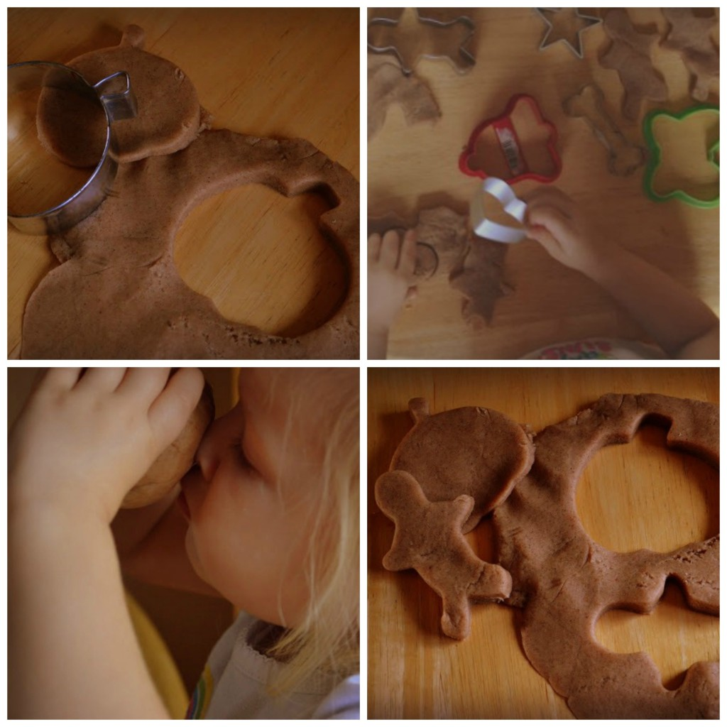 Gingerbread Playdough- All Natural and it smells amazing!