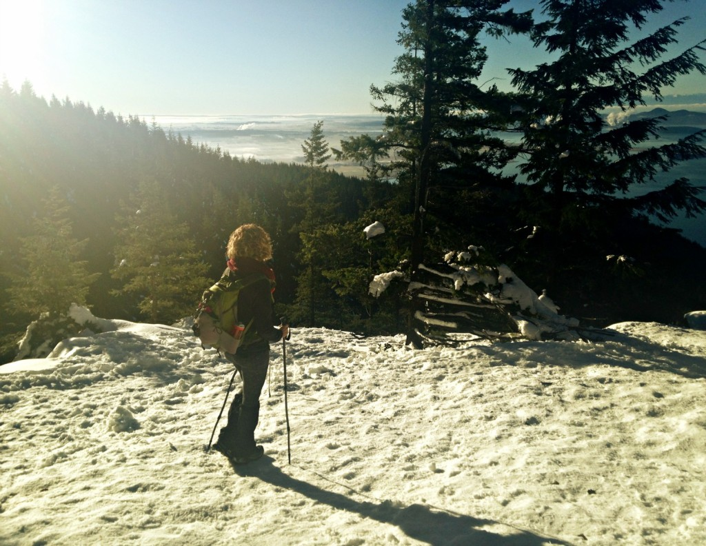 Oyster Dome Snowy Hike