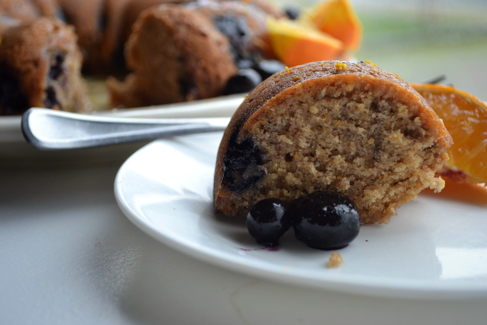 Whole Wheat Blueberry Orange Bread – Northwest Healthy Mama