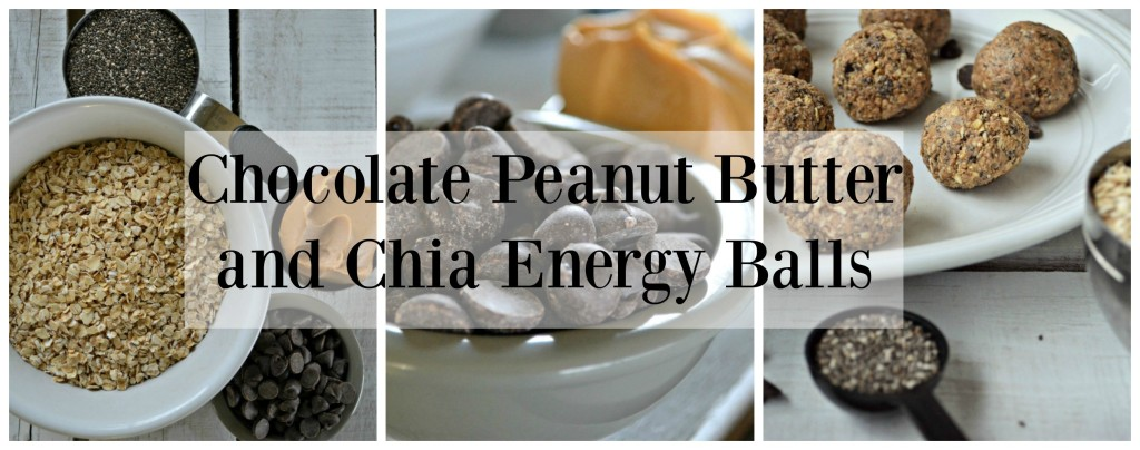 Chocolate Peanut Butter and Chia Energy Balls