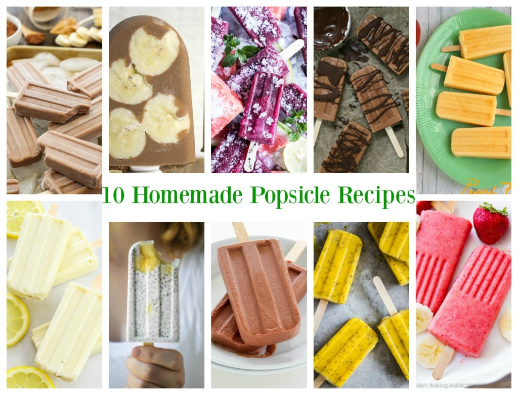 10 Homemade Popsicle Recipes