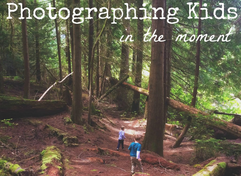 Photographing kids in the moment