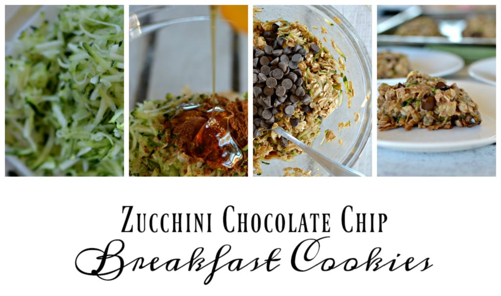 Zucchini Chocolate Chip Breakfast Cookies- Amazing!